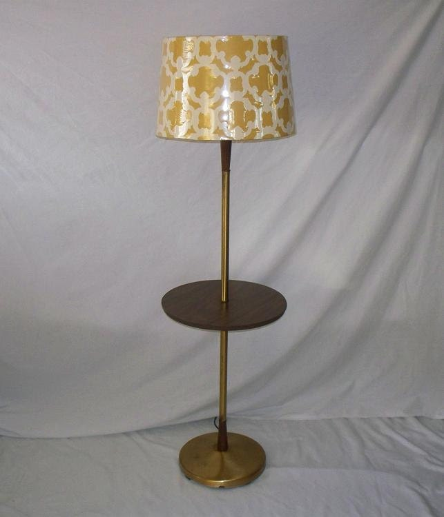vintage mid century floor table lamp by the2ndtimearound on etsy. Black Bedroom Furniture Sets. Home Design Ideas