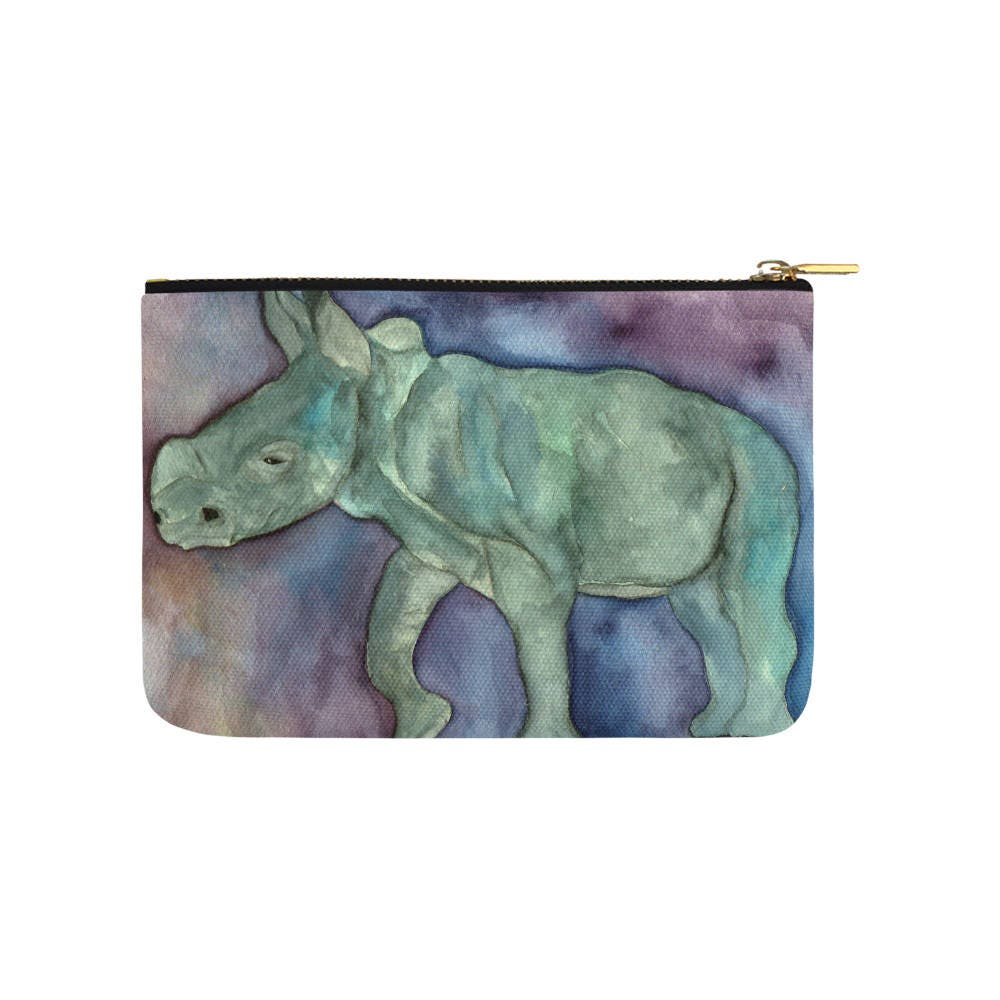 Rhino Carry All Pouch Fashion Bag Bridal Party Bag Purse Tote Bag