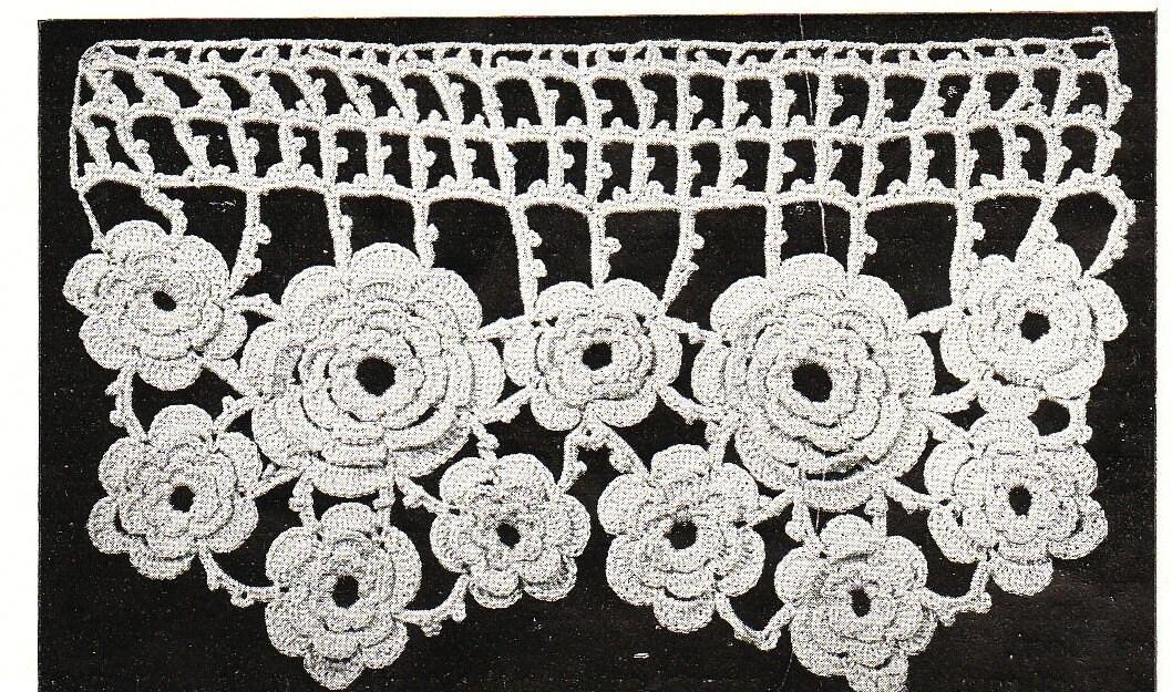 Irish Crochet Rose Pattern and Instructions FREE!! | The Secrets