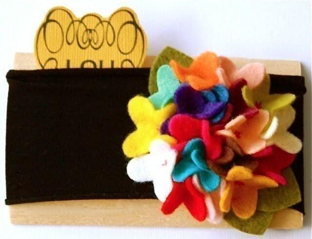 Carnival hydrangea headband