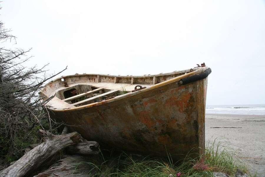 Stranded at Cape Disappointment II - 8 x 12 - NakedEye17Images