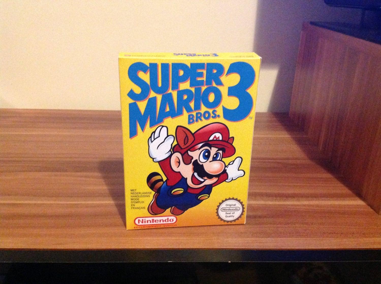 NES Super Mario Bros 3  Repro Box NO Game Included