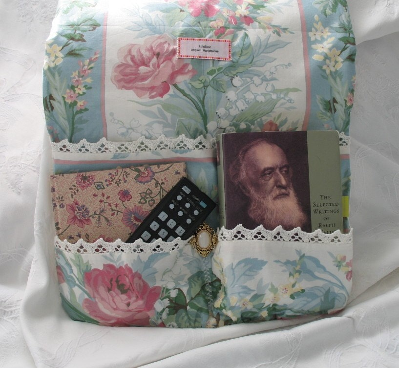 Carolina Roses  Bedside Caddy by lolabear on Etsy