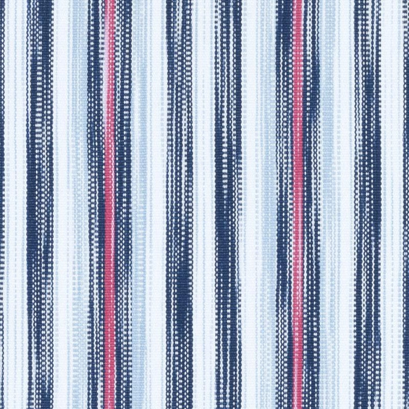 Navy blue and white fabric