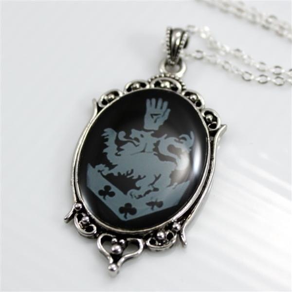 cullen family crest pendant necklace rosalie 925