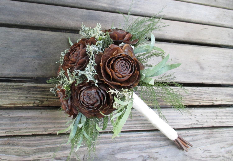 how to make a cedar bouquet