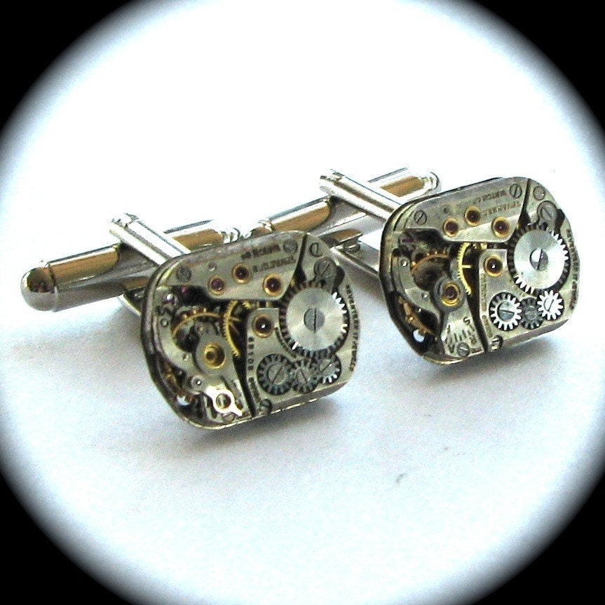Steam Punk Cuff Links