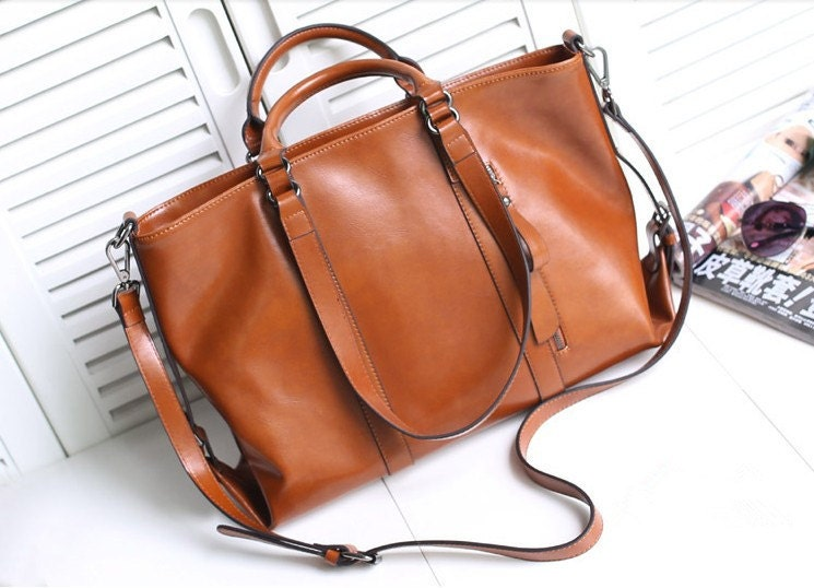 Find great deals on eBay for brown leather handbag large. Shop with confidence.