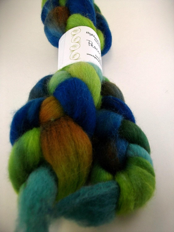 Highland Handmades Peacock Corridale