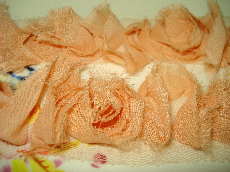 Pink Rose Shabby Chic Ribbon/Trim