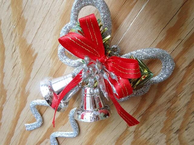 Handmade Christmas Butterfly Ornament