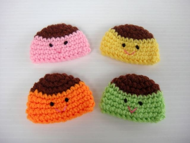 Crochet Applique - Baby Pudding