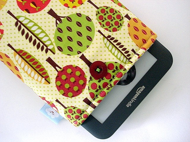 The  padded eReader sleeve (Kindle 3g - Nook) --- Lots of tree's
