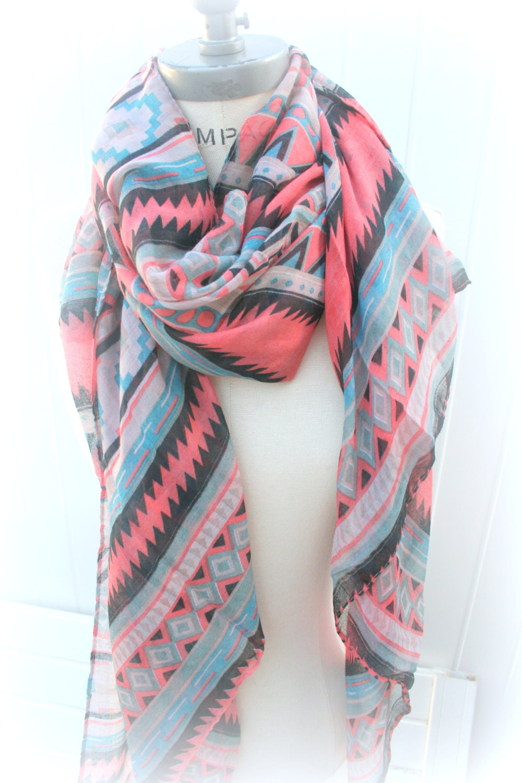 tribal scarves aztec scarf most popular item by piyoyo