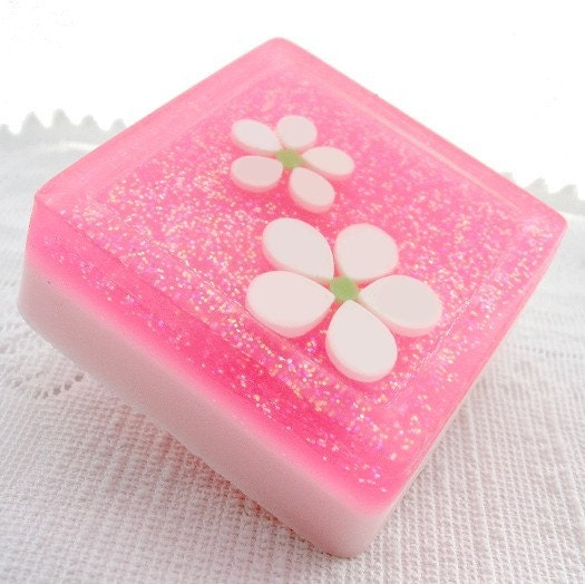 Waterlily Jasmine Decorative Soap with Shea Butter
