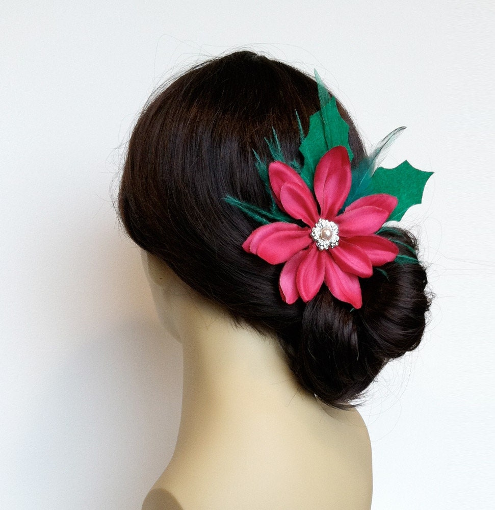 christmas hair accessories pin