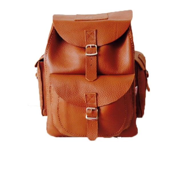 Leather Rucksack Leather Backpack Backpack Rucksack Brown Rucksack