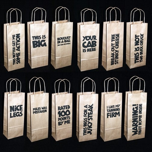 Saucy Sacks Wine/Liquor Bags