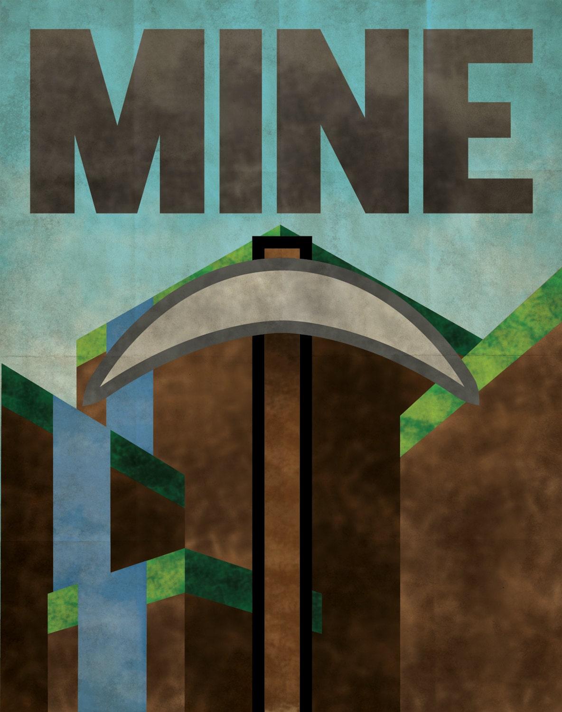 Minecraft Propaganda Poster