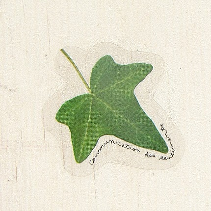 The Ivy Leaf sticker - set of 10pcs