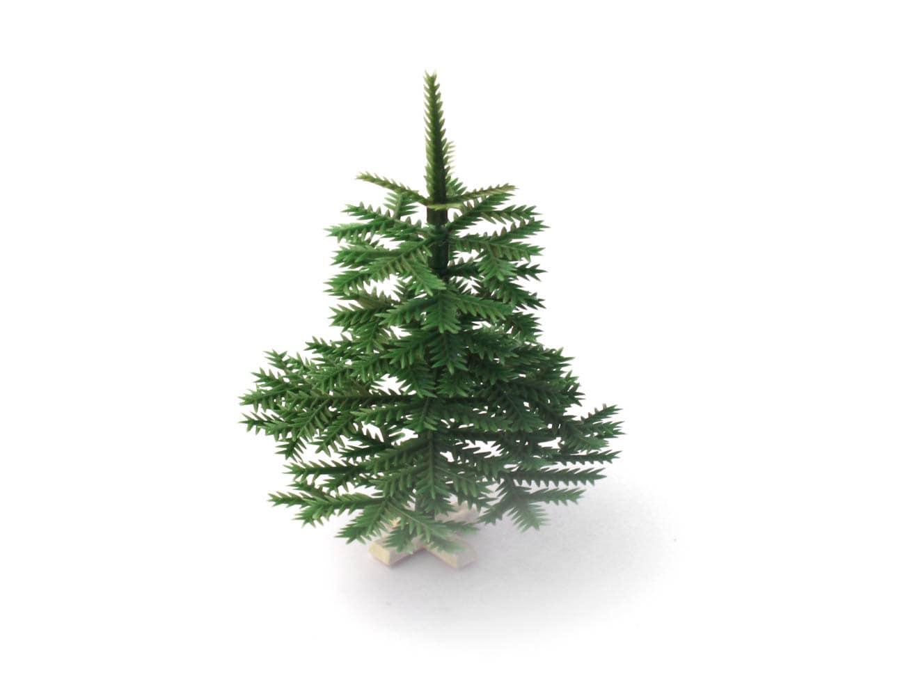 Christmas tree, Small vintage plastic collapsible christmas tree, green - sovietvintage