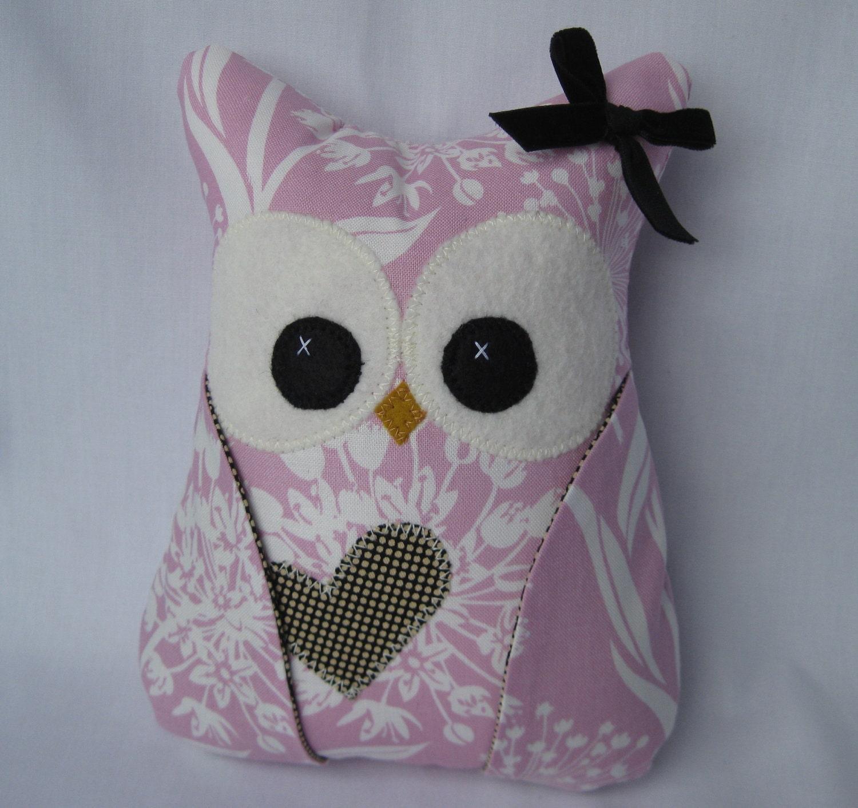 NEW Girly Girl Plush Owl