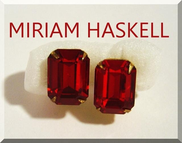 ON  SALE TODAY VINTAGE signed MIRIAM HASKELL by VintageTreasures4U