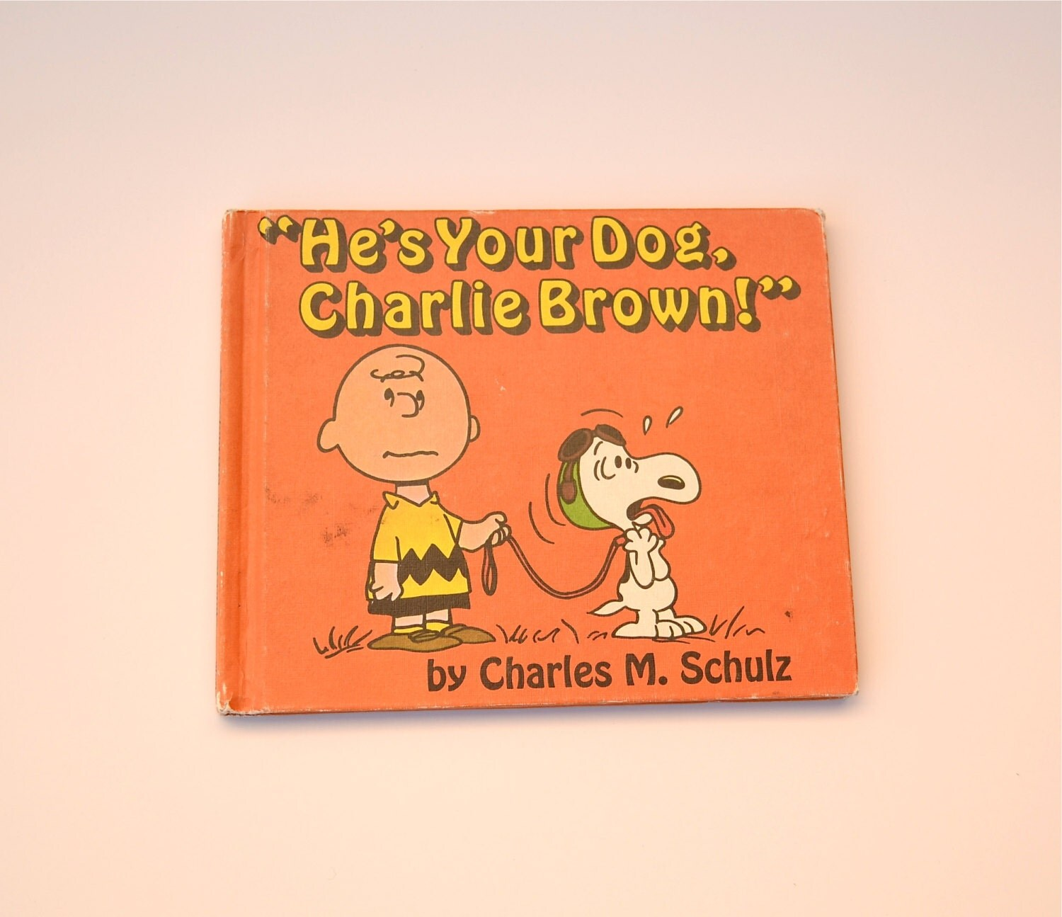 He's Your Dog Charlie Brown Book 1968 First Edition By Charles M. Schulz - LindasTimeCompass