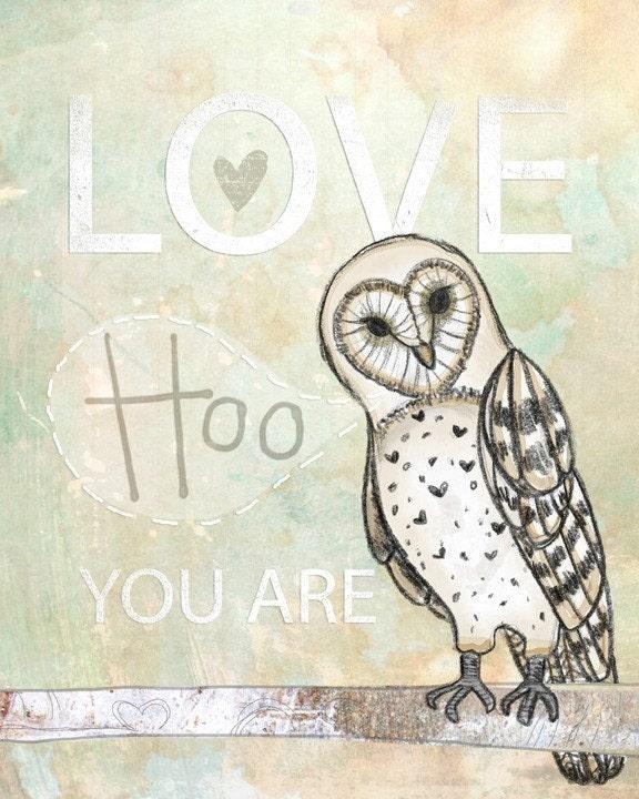 Love Hoo- A New print for November