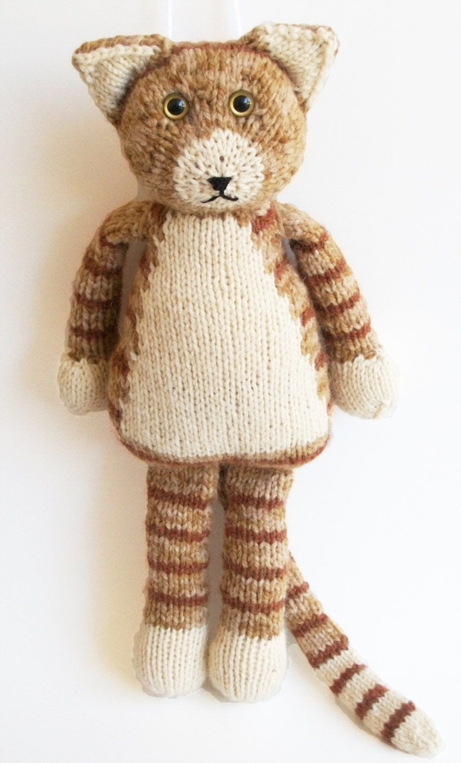 Knitting Patterns For Dogs And Cats : Items similar to Rudy Cat PDF Knitting Pattern on Etsy