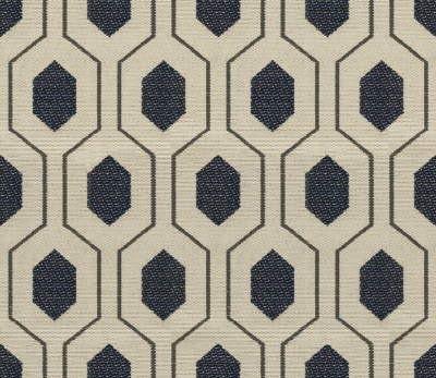 Geometric Retro Vintage Mid Century Patterned Fabric via LOFT32