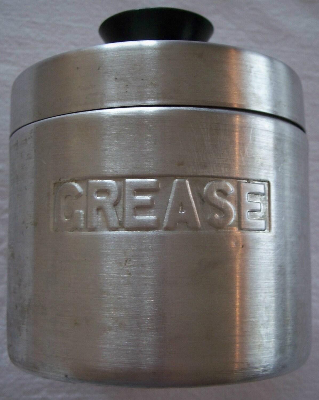 Vintage enterprise aluminum grease catcher by