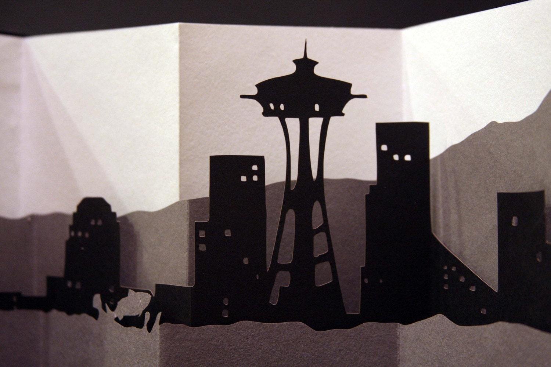Seattle Skyline Book