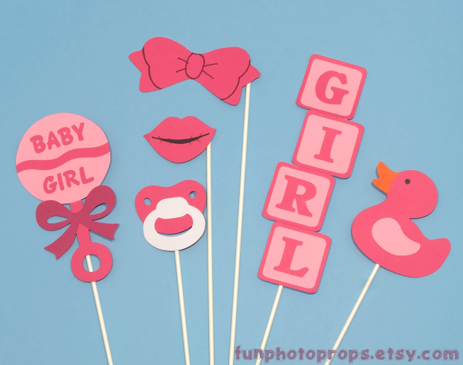 baby shower photo booth props printable quotes