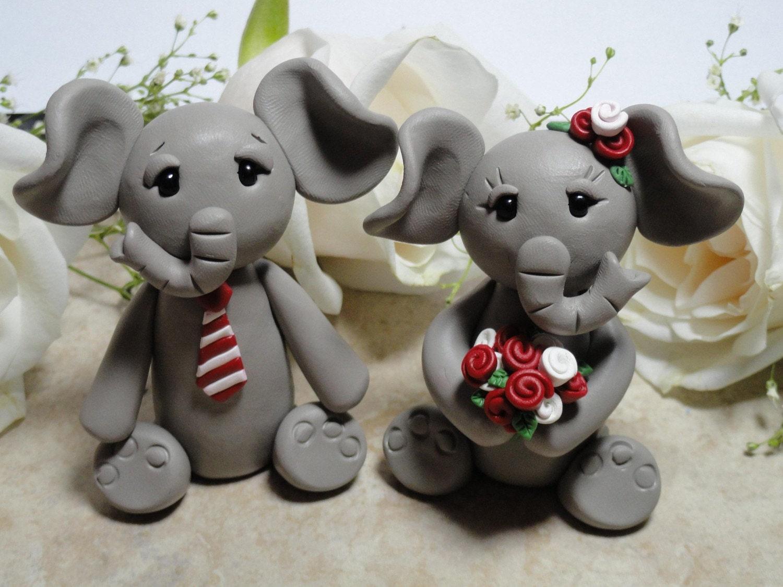 Custom Elephant Cake Topper
