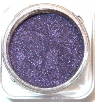 "Orchid Blue Cosmetics Mineral Eye Shadow ""SAGITTARIUS"" Mysterious Sparkling Purple"