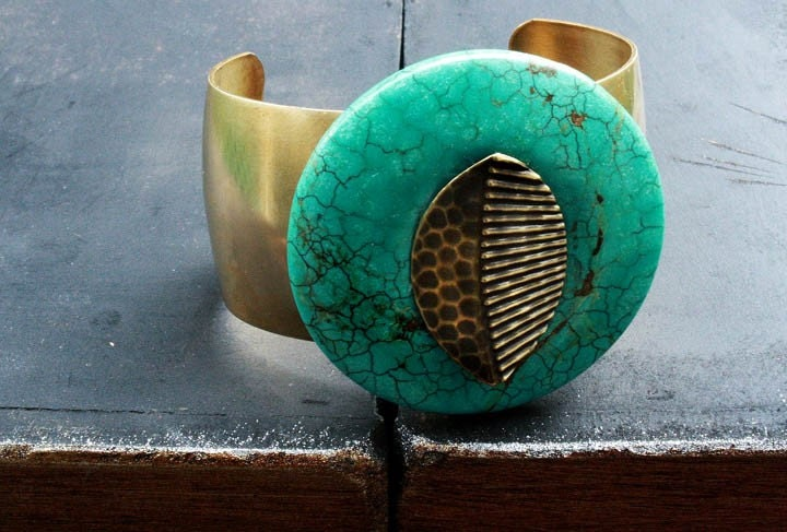 Onile (Spirit of the earth) Cuff Bracelet