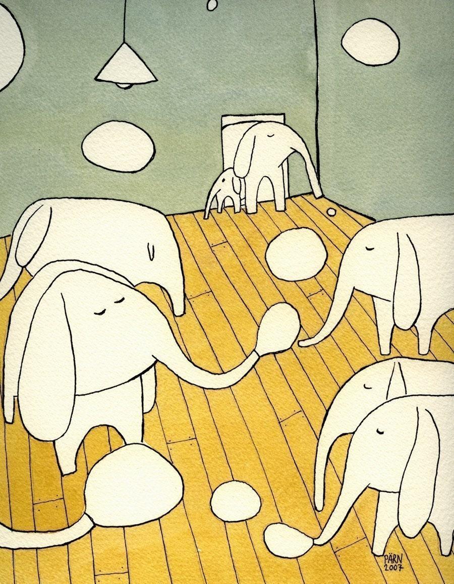 Elephants in the Living Room II