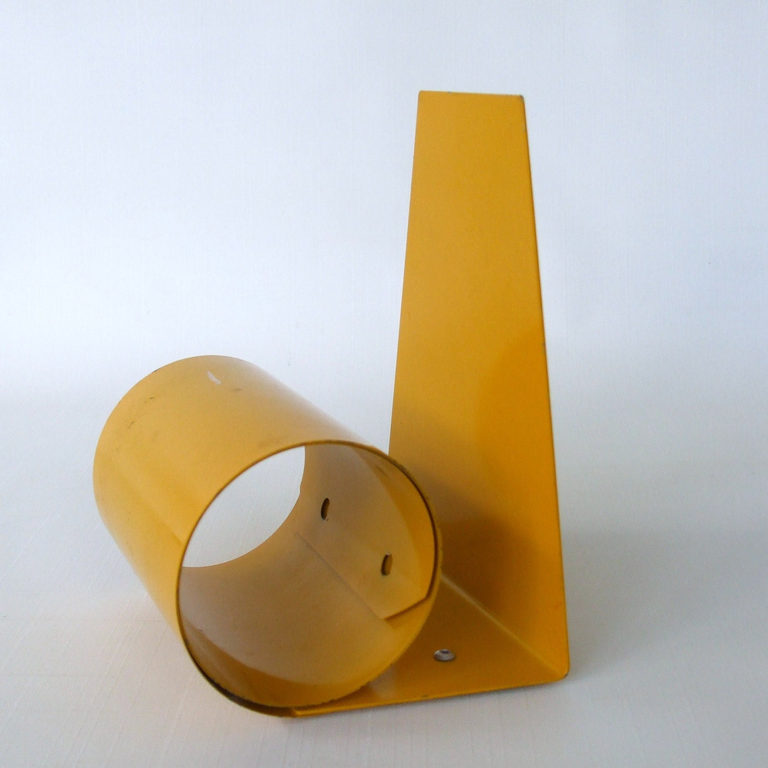 Book End - Mod Yellow Spring Tite Metal