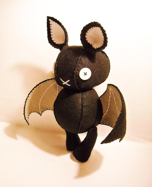 Летучая мышь своими руками из фетра