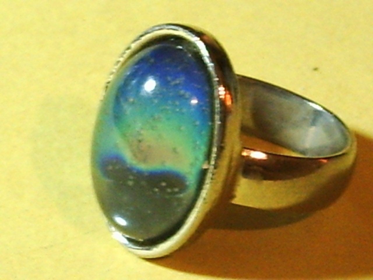 reserved for ariel vintage 1970s mood ring by marciworld