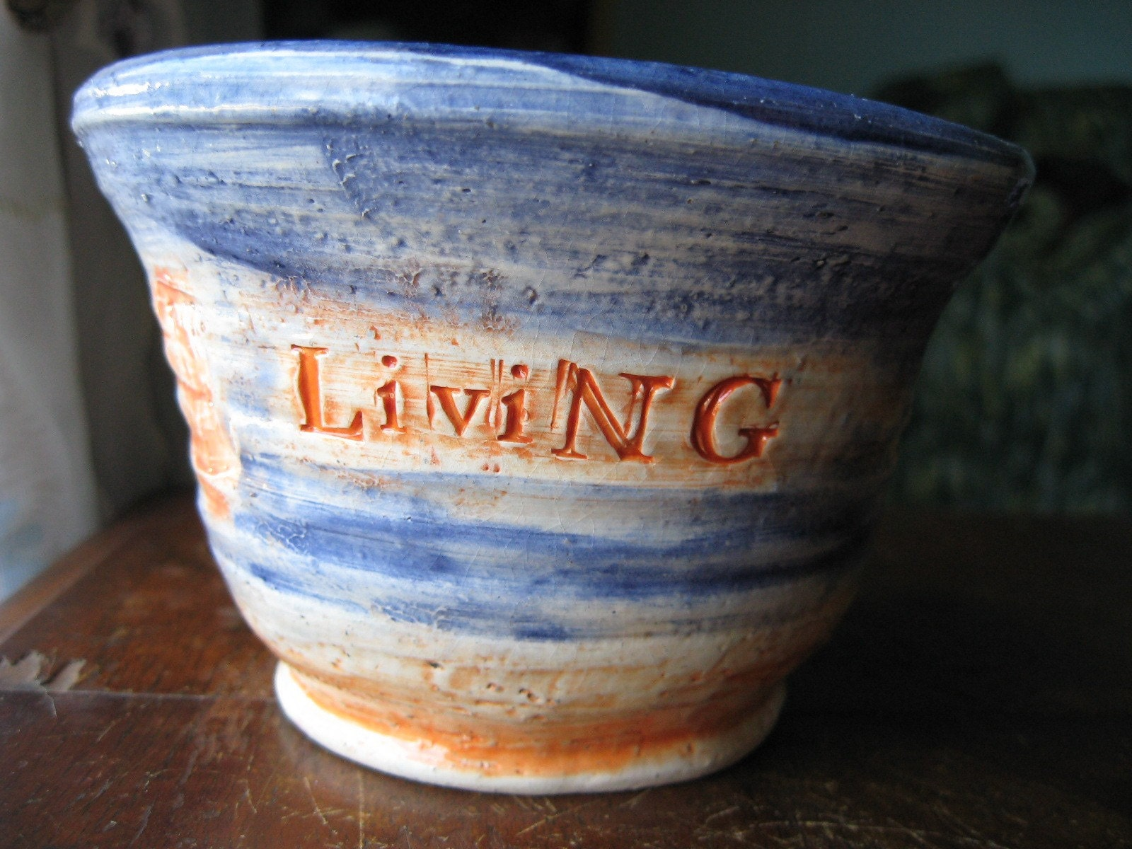 Living The Fantasy heart bowl
