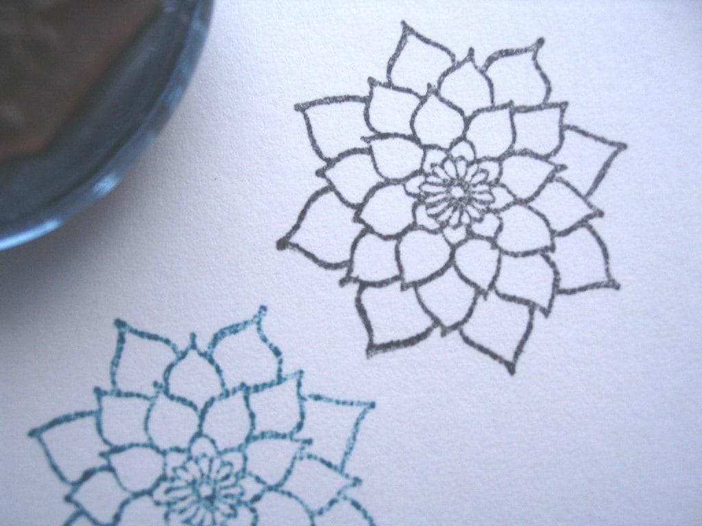 Dahlia Flowers Drawing Dahlia Flower Drawing