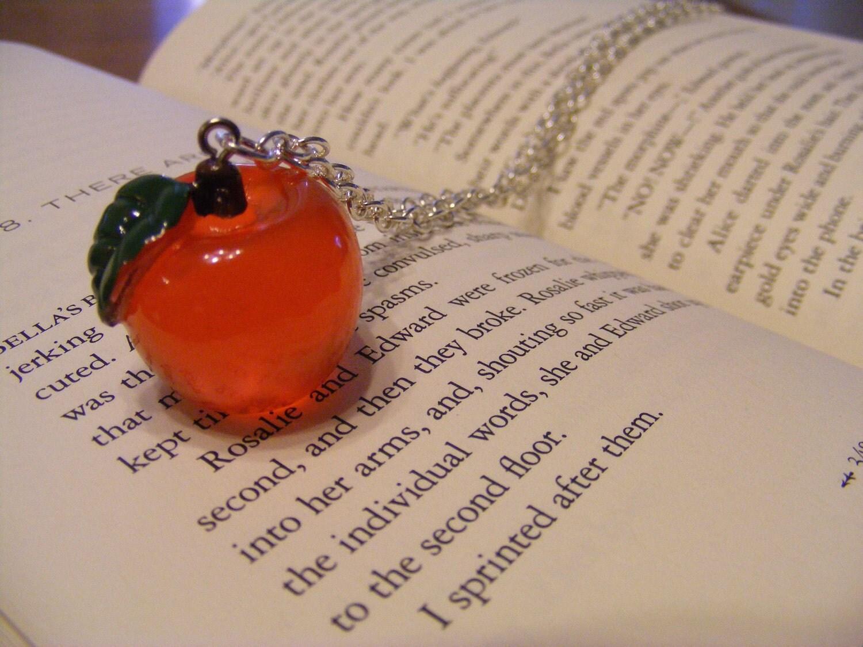 Necklace Apple Forbidden Fruit