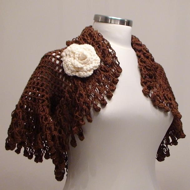 Chocolate Brown Rumba Shrug