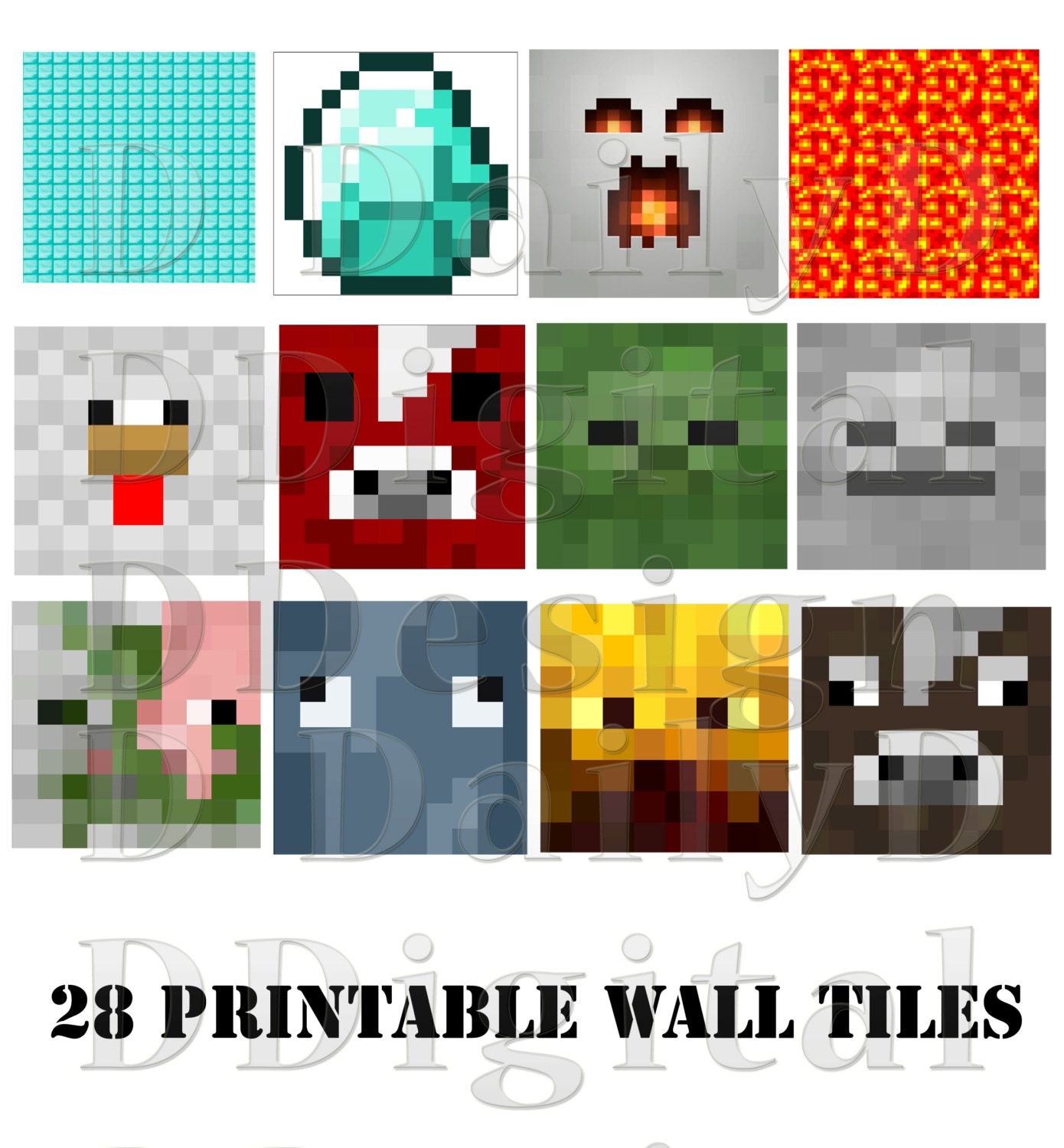 Wall Decorations Minecraft : Moved permanently
