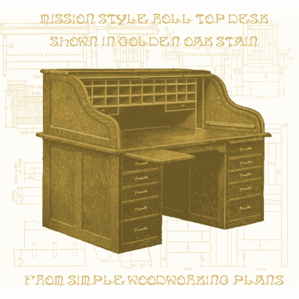 wood furniture plans authentic mission by woodworkingplans4you