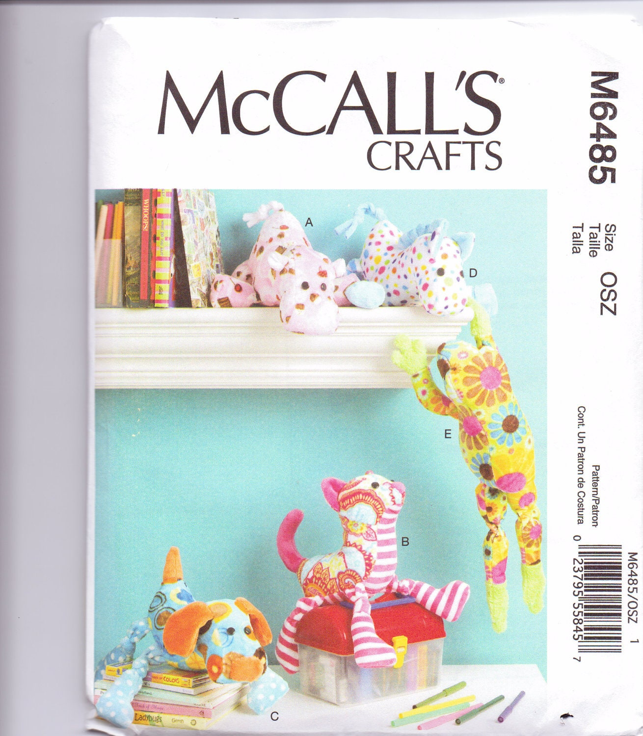 McCall's Stuffed Animal Patterns