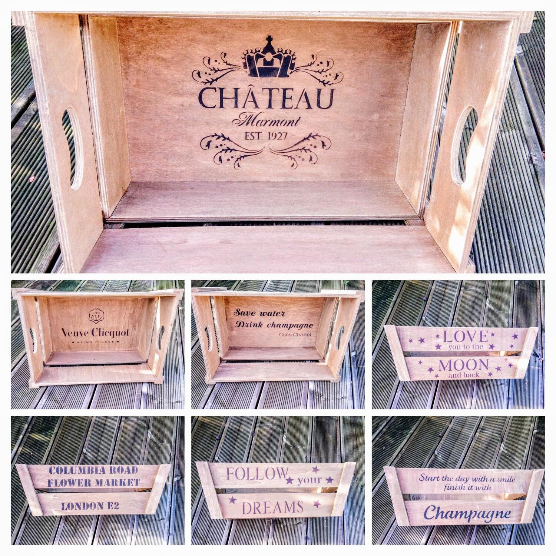 Vintage Wooden Handcrafted Rustic Storage Crate  Various Design Fabulous Kitchen MultiPurpose Keepsake Storage