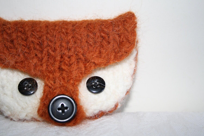 Felted Fox Coin Purse @owlprintpanda.blogspot.co.uk